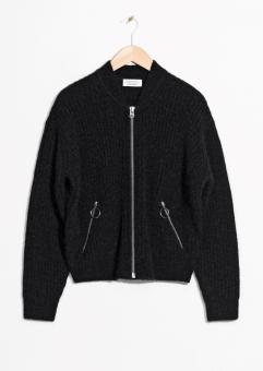Wool & Mohair Bomber Knit, 99€