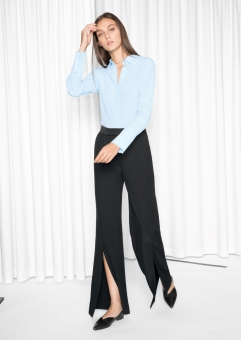 Tailored Slit Trousers, 79€