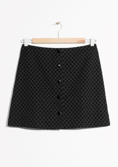 Button-Down Mini Skirt, 69€